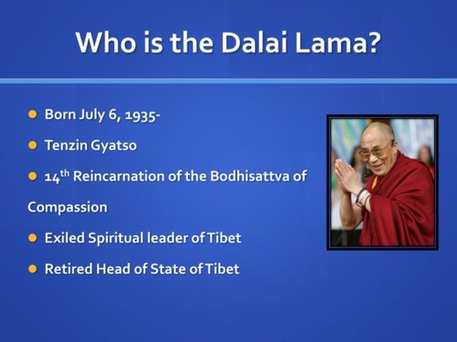 Where is Tibet? Who is The Dalai Lama?